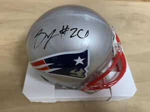 Stephon Gilmore New England Patriots Signed Mini helmet COA