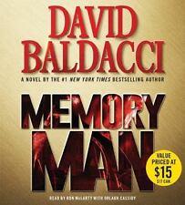 Memory Man by David Baldacci (2016, CD, Abridged) AUDIOBOOK