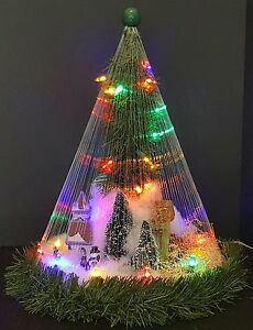 """Christmas Tree Scene"" - Unique Christmas Decor Item."
