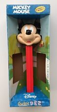 PEZ Disney Giant Mickey Candy Roll Dispenser Plays Music - No Candy Included