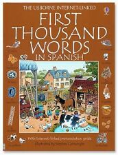 First Thousand Words in Spanish: With Internet-Linked Pronunciation Guide, Heath