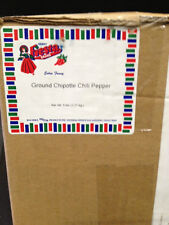 Bolner's Fiesta Extra Fancy Ground Chipotle Chili Pepper, 5 LBS