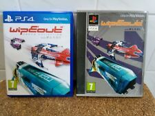 Wipeout Omega Collection Sony PS4 Case Box With Card Sleeve Only No Game Display