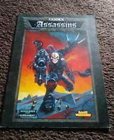 Warhammer 40,000 Codex Assassins (3rd Edition 1997) Games Workshop Army Freeship