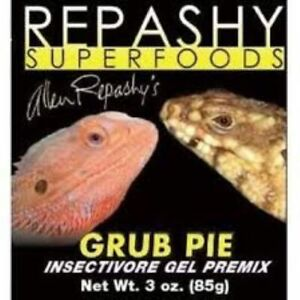 Repashy Grub pie 85 - 170 - 340 - 2000g Aliment complet