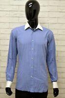Camicia Uomo GIANFRANCO FERRE Taglia 40 ( XL ) Maglia Shirt Man Cotone Casual