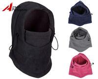Tactical Airsoft Balaclava Full Face Mask Hood Winter Fleece Hat Cap Neck Warmer
