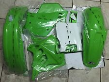 KIT PLASTICHE KAWASAKI KX 250 1990 1991 KIT 5 PZ COLORE ORIGINALE
