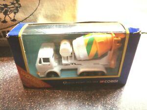 Corgi 58502 Mercedes Top Mix Cement Mixer truck mint Boxed retro