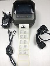 Zebra GK Series GK420D Monochrome Label Printer - Black (GK42202520000)