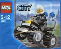 Lego City Police 4x4 5625 Sac en Plastique Neuf Emballé