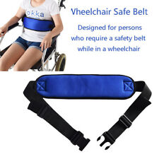 Wheelchair Seat Belt Cushion Harness Straps Safety Adjustable Front LYRYU