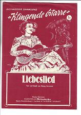 KLINGENDE GITARRE * Liebeslied * Noten für Gitarre