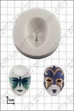 Moule Silicone Masque Vénitien Nourriture Usage Fpc Décoration en Pâte à Sucre
