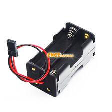 02070 Receiver Battery Case Holder Box JR Plug 4 x AA Nitro RC HSP Spare Part