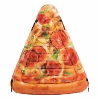 "69"" Intex Giant Inflatable Pizza Slice Mat Beach Lounger Pool Float Swim Lilo"