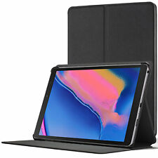 Samsung Galaxy Tab A 8.0 S-Pen P200 2019 Case   Magnetic Cover Stand   Black