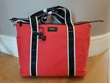 RADLEY Red & Black Softshell Tote Bag BNWT