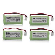 4x Home Phone Battery For At&T Vtech Bt166342 Bt266342 Bt183342 Bt283342 Cph515J