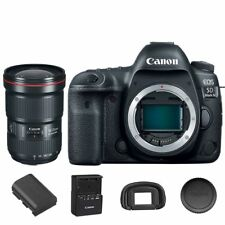 Canon EOS 5D Mark IV DSLR Camera Body with EF 16-35mm f/2.8L III USM
