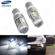 2x BAX9s H6W  LED Ampoules Blanc 10W voiture Clignotant Plaque Plafonnier