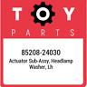 85208-24030 Toyota Actuator sub-assy, headlamp washer, lh 8520824030, New Genuin
