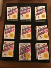 1991 Pacific Football Series 1 Lot Of 45 (14 Cards) Packs NFL MANCAVE