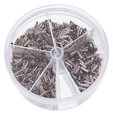 Aderendhülsen unisoliert 0,5 - 2,5 mm² in Streudose Litze Presshülsen Sortiment
