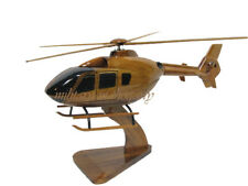 Eurocopter EC135 Airbus H135 Civil EMS Medevac Helicopter Wood Wooden Model