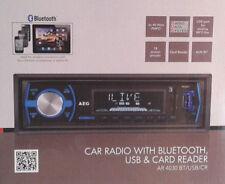 AEG AR 4030 BT/USB/CR Autoradio mit Bluetooth,USB-Card Reader- AUX-IN 4x40 W OVP