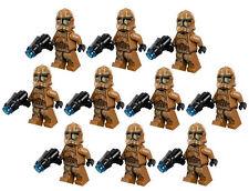 10 NEW LEGO STAR WARS GEONOSIS CLONE TROOPER MINIFIG LOT 75089 storm figure
