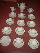 Kaffeeservice Rosenthal - Kronach - Viktoria - 11 Pers. sehr alt