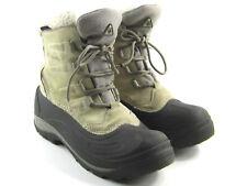 Columbia Cascadian Summette Women's White Leather Thermolite Winter Boots Sz 9