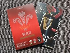 More details for wales v england 27/2/21 six nations rugby union programme immediate post!