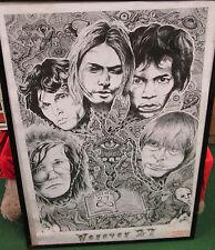 Forever 27 Poster New Vintage 2004 Cobain Morrison Hendrix Stones Nirvana Joplin