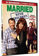 Married With Children Complete Season 7-8 (Seven & Eight) ~ NEW 4-DISC DVD SET