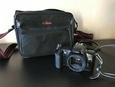 Canon Rebel EOS XS 35mm Film Camera Body Only w/ Case Bag Photography