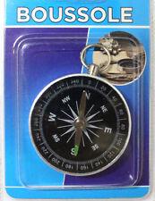 Boussole Classique en Métal 4,50 cm Diamètre Randonnée Camping Qualité