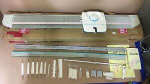 Knitking Dual Gauge Knitter Brother KH400 Knitting Machine w Original Box