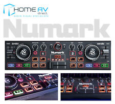 Numark DJ2GO2 Mini Portable DJ Controller USB to MIDI With SERATO DJ FREE P&P