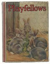 PLAYFELLOWS  by Charles Herbert  1950s  VG++  Illustrator Jacques Browne