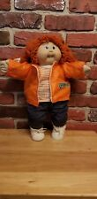 Vintage 1985  Cabbage Patch Doll Red Hair Blue Eyes