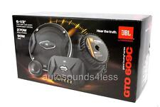 "JBL GTO 609C 540 Watts 6.5"" 2-Way Car Component Speaker System 6-1/2"" New"