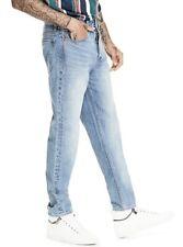 Guess Men's Originals 1981 High Rise Slim Straight Jeans Light Blue Size 29