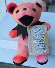 """Grateful Dead """" Sugaree """" Beanie Baby 7"""" Tall Made By Liquid Blue (New) Tie Dye"""