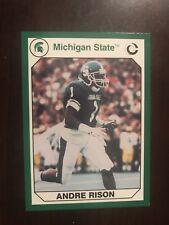 1990 Michigan State Spartans Collegiate Collection #77 - Andre Rison - Football