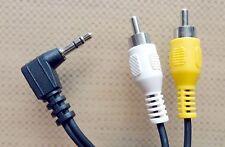 Audio Kabel 185cm Klinke Cinch stereo 3,5mm Klinkenstecker auf 2x Chinch-Stecker