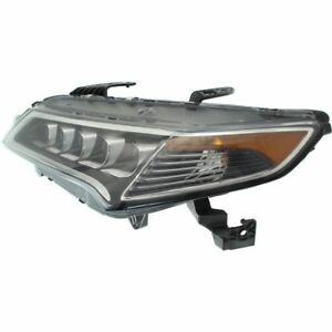 FITS ACURA TLX 2015-2017 LEFT DRIVER LED HEADLIGHT HEAD LIGHT FRONT LAMP W/BULBS