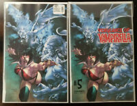 Vengeance of Vampirella #5 1:10 Segovia Virgin Variant + Segovia Variant