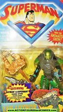 SUPERMAN the animated series 1996 LEX LUTHOR dc universe kenner figures moc